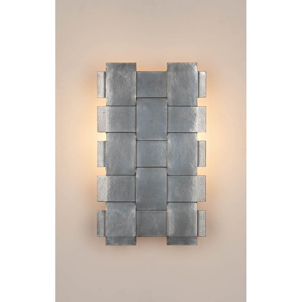 Designer Range Energy Saver Pewter Wall Light Panel, illuminated artwork British Quality ...