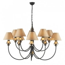 SPEARHEAD black bronze ceiling light