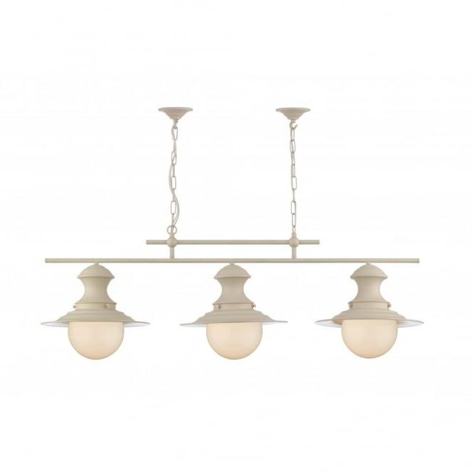 sc 1 st  The Lighting Company & Station Lamp Triple light cream pendant. azcodes.com
