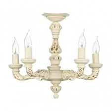 TUDOR traditional ivory ceiling light