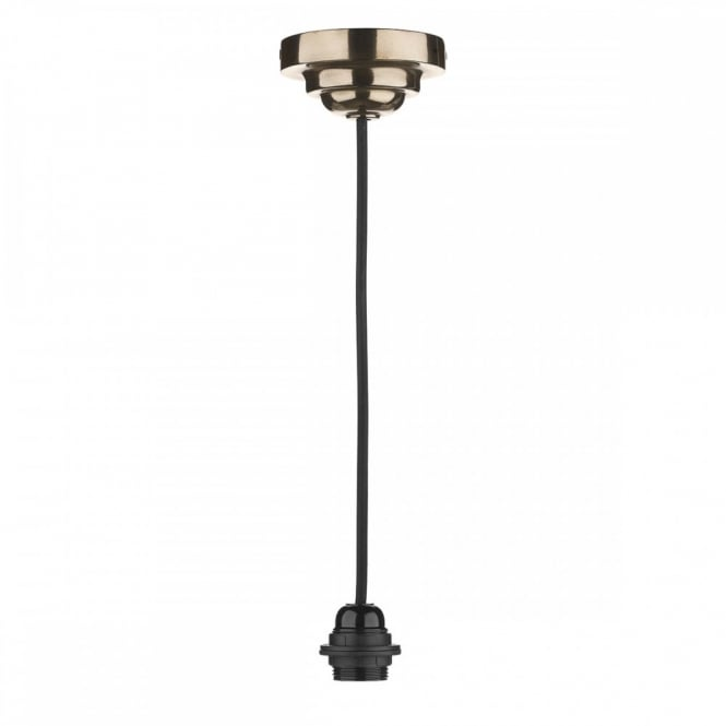 The David Hunt Lighting Collection WEXFORD single pendant suspension in bronze finish