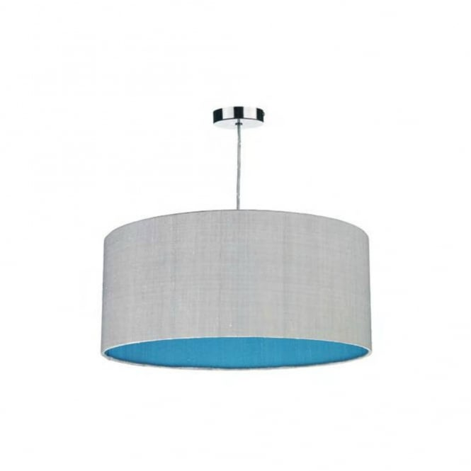 The David Hunt Lighting Collection ZUTON two tone easy fit shade non electric pendant