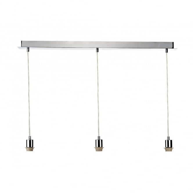 The Lighting Book 3 LIGHT PENDANT SUSPENSION polished chrome