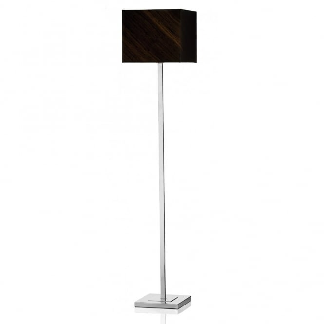 The Lighting Book ANVIL modern chrome floor lamp with shade