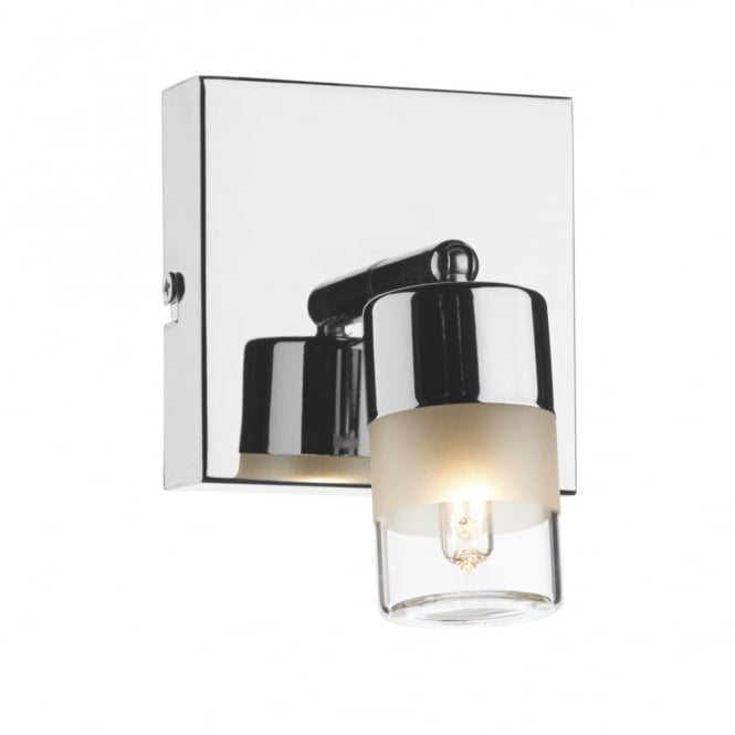 The Lighting Book ARTEMIS polished chrome bathroom wall spot light