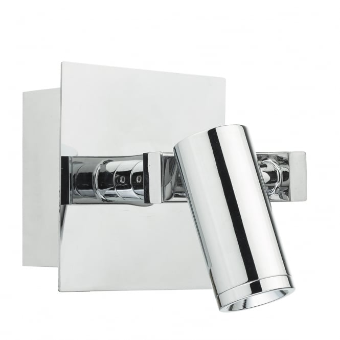 The Lighting Book BEX modern polished chrome LED wall light