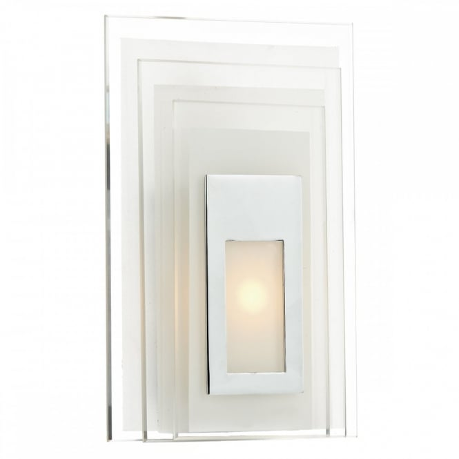 The Lighting Book BINARY LED panel wall light, frosted glass