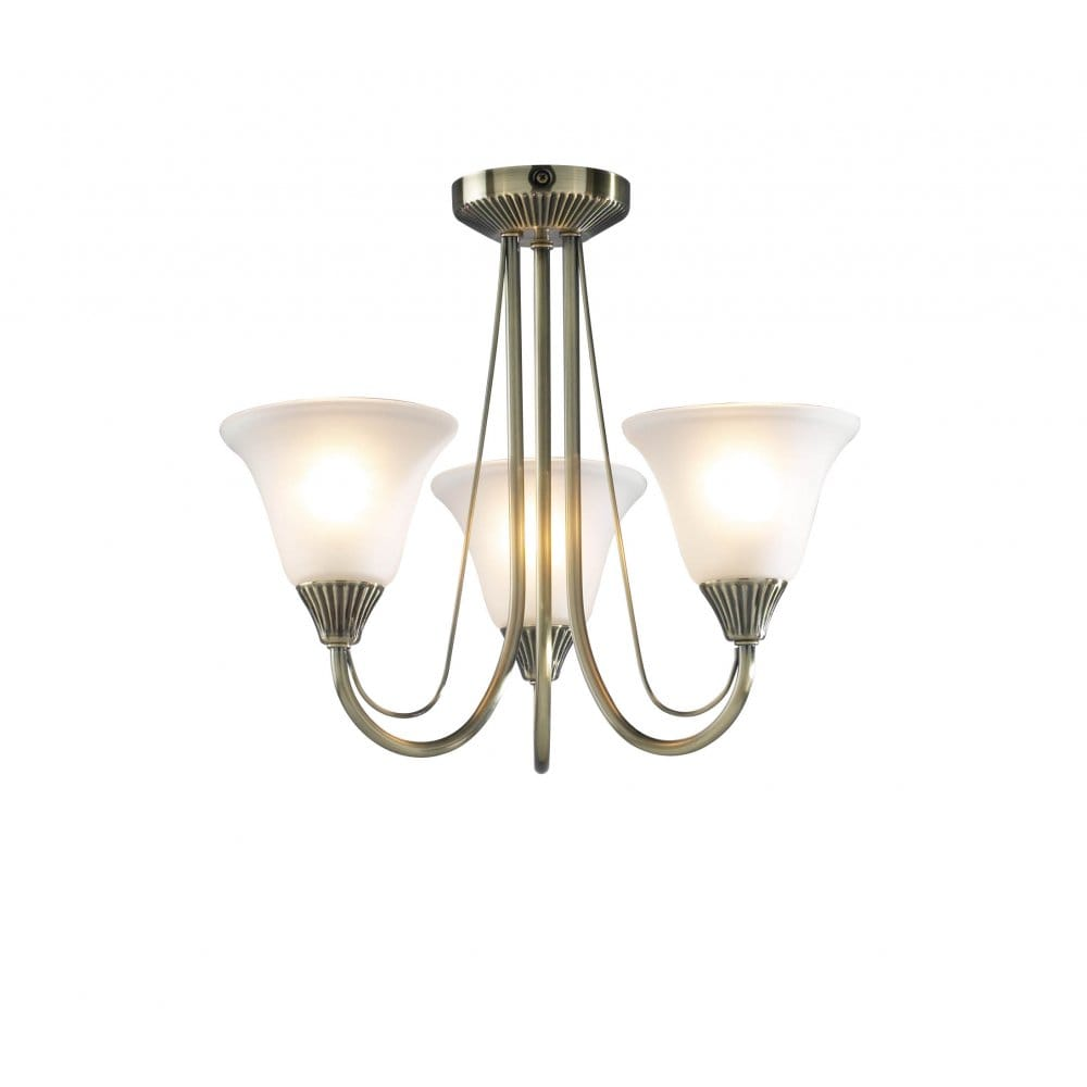 Traditional Regency or Edwardian Light for Low Ceilings ...
