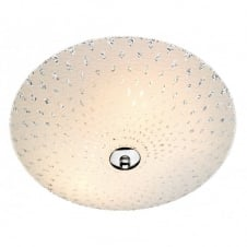CLARENCE flush ceiling light for low ceilings