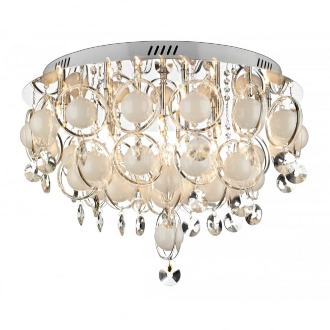 Cloud large crystal light for low ceilings cloud large crystal light for low ceilings aloadofball Choice Image