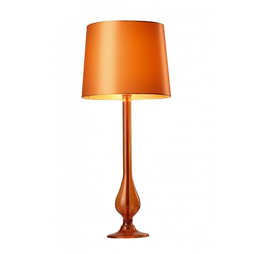 Orange table lamp shade uk best inspiration for table lamp modern table lamps view all the lighting book modern table lamps mozeypictures Images