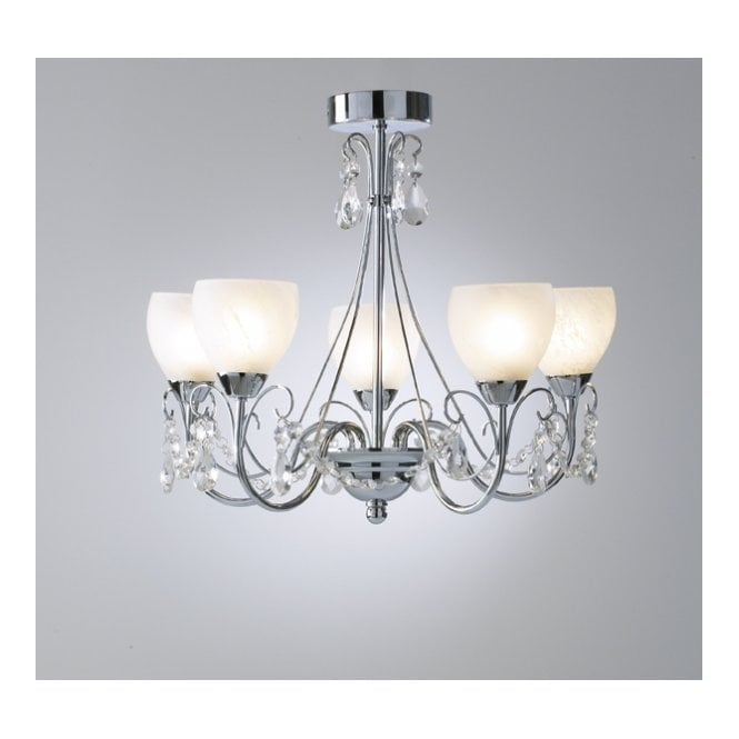 Crawford IP44 Bathroom Chandelier Suitable for Zone 1