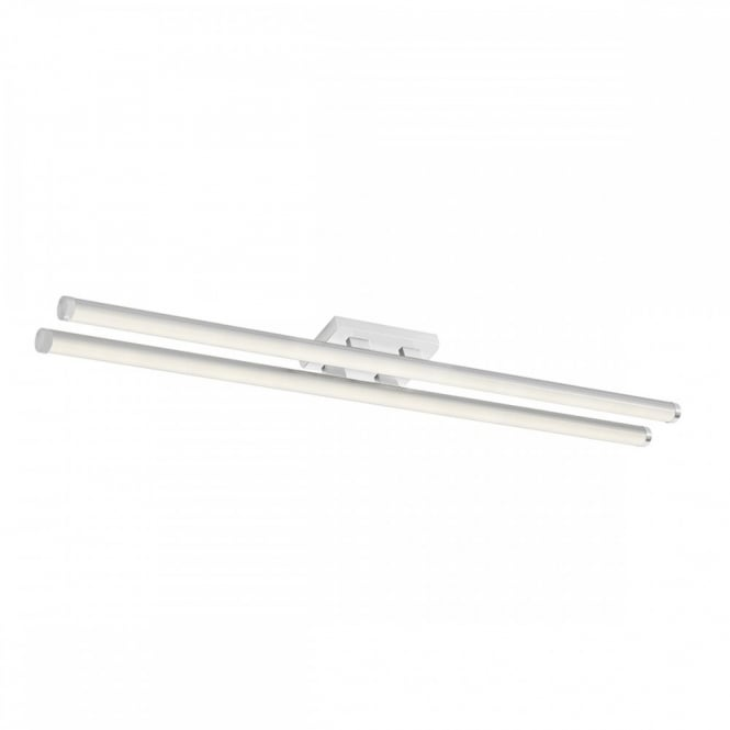 The Lighting Book CUISINE small modern LED flush tube ceiling light (white)