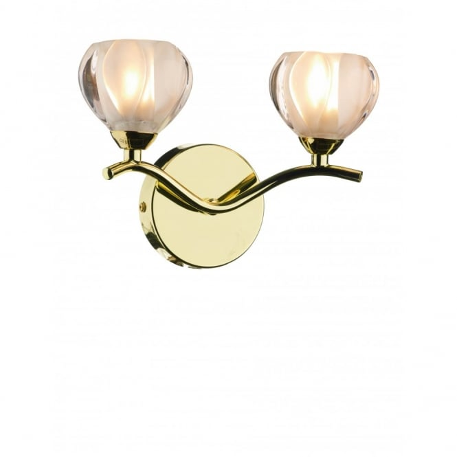 The Lighting Book CYNTHIA brass gold compact wall light
