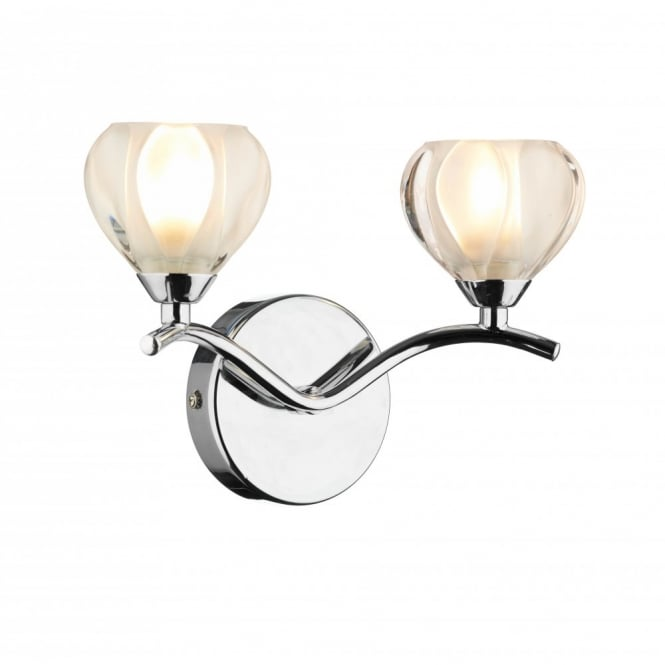 The Lighting Book CYNTHIA compact chrome wall light