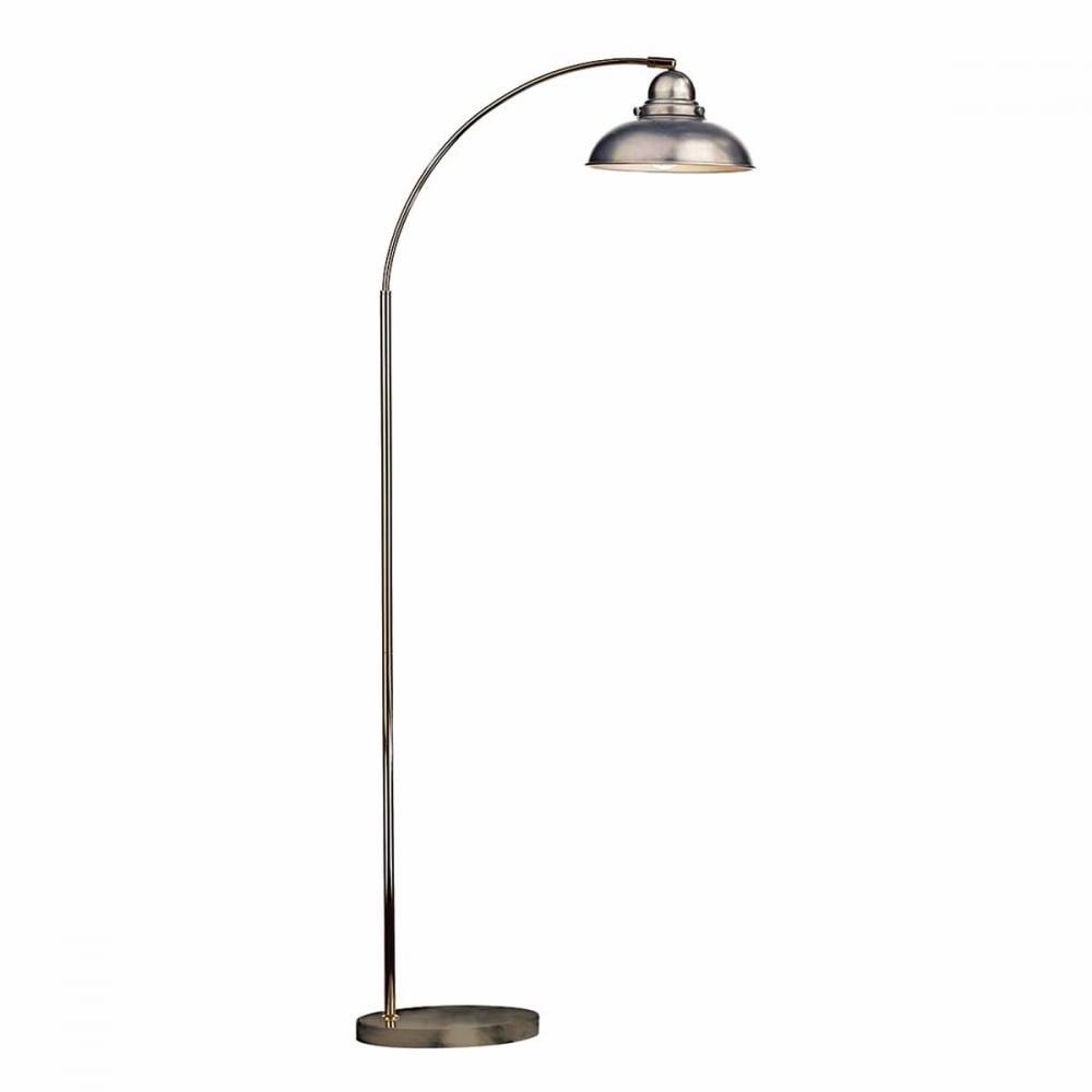 Dynamo retro style antique chrome floor standing lamp great for dynamo wide arc antique chrome retro floor lamp mozeypictures Choice Image