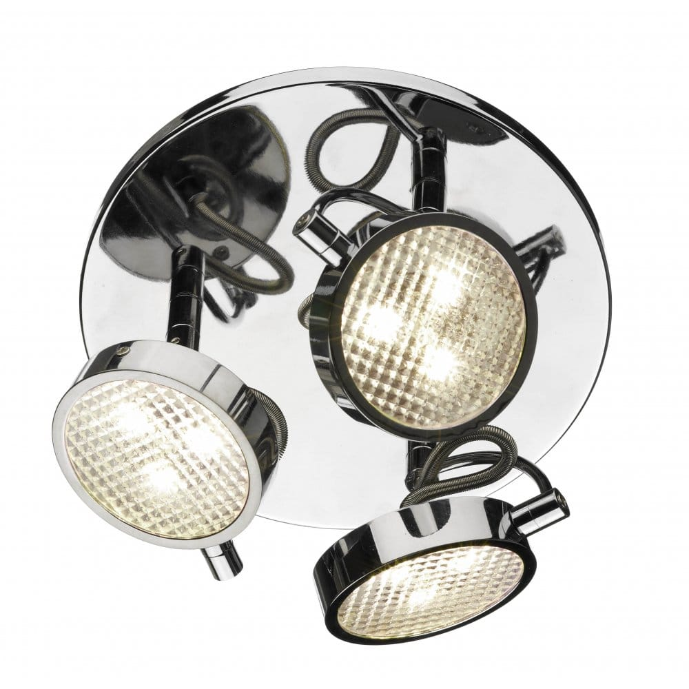 Double Insulated Outdoor Security Lights: Eagle Double Insulated LED Ceiling Spotlight Cluster