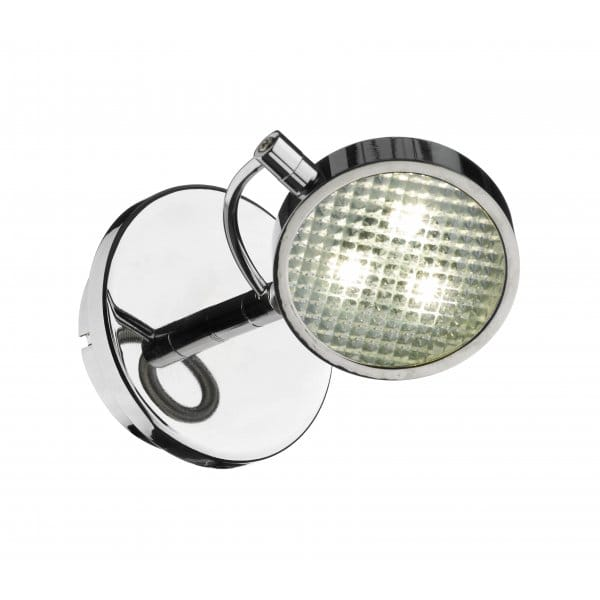 Eagle Double Insulated LED Wall Spotlight in Chrome