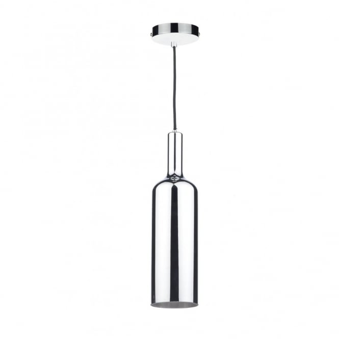 The Lighting Book ELAN silver glass & polished chrome ceiling pendant