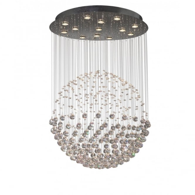 The Lighting Book EXCELSIOR large crystal feature ceiling light