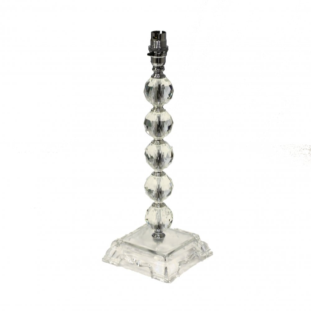 lighting book the lighting book faceted glass ball table lamp base. Black Bedroom Furniture Sets. Home Design Ideas