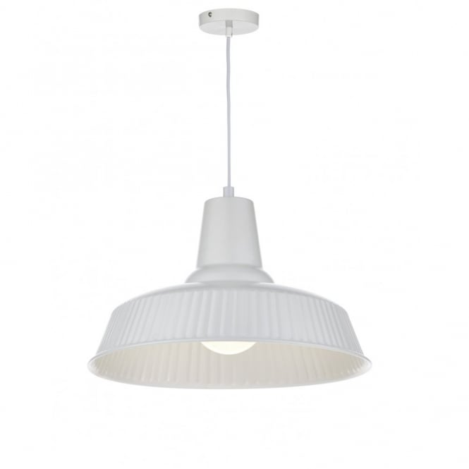 The Lighting Book FALKIRK retro ivory finished ceiling pendant