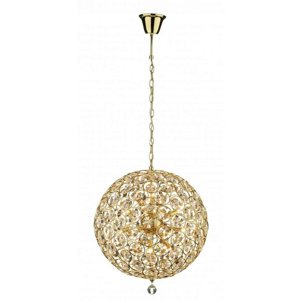 Gold and crystal modern chandelier pendant light to buy for Pendant lighting for high ceilings