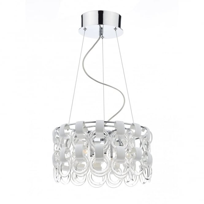 The Lighting Book HOOP 9 light contemporary ceiling pendant