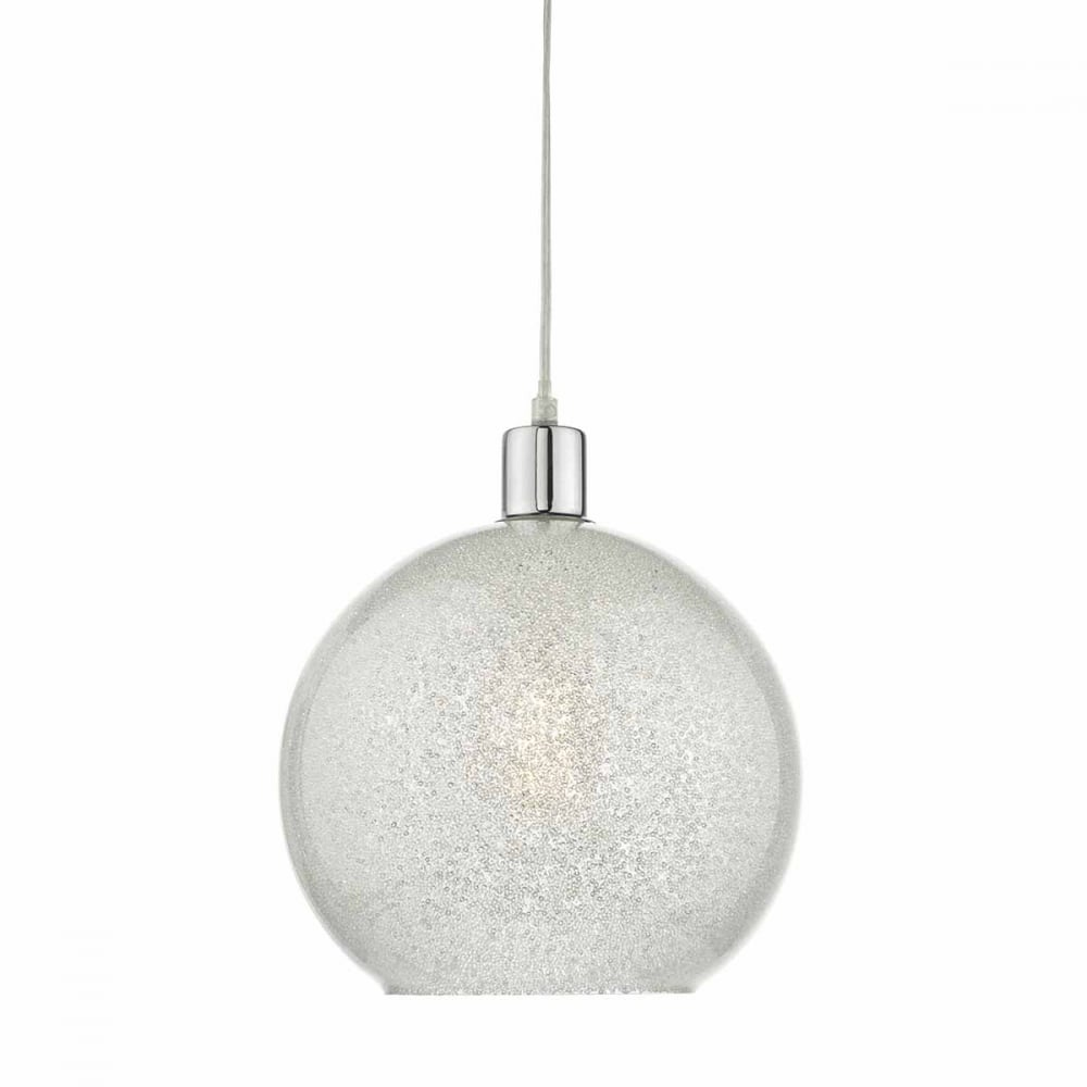 Janna crystal dust glass globe easy fit pendant shade janna crystal dust glass globe easy fit pendant shade mozeypictures Image collections
