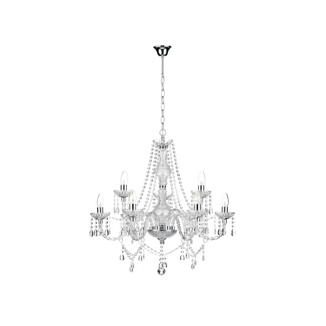 The Lighting Book KATIE double insulated 9 light chandelier