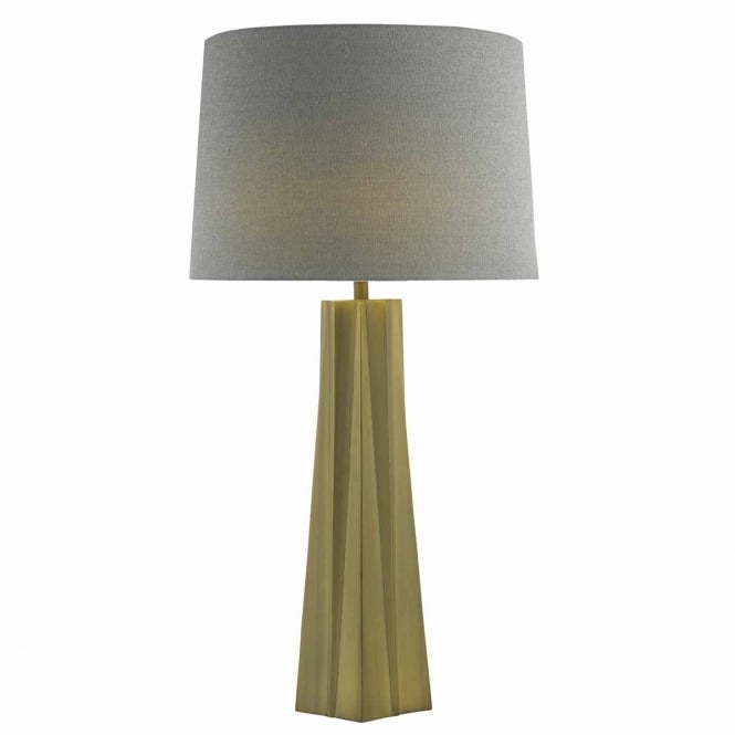 The Lighting Book LAGUNA bronze crystalline table lamp with shade