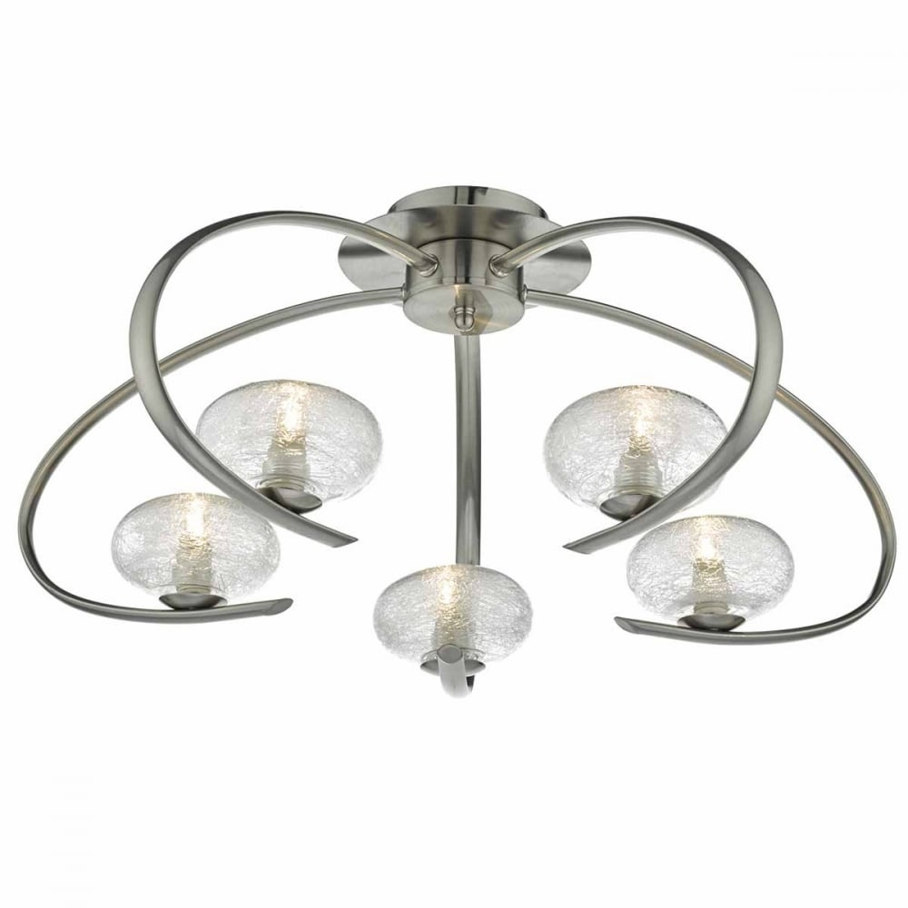 ceiling in com semi nickel angelica shop glass clear pl lighting lights polished at product lowes fans display for flush mount w reviews