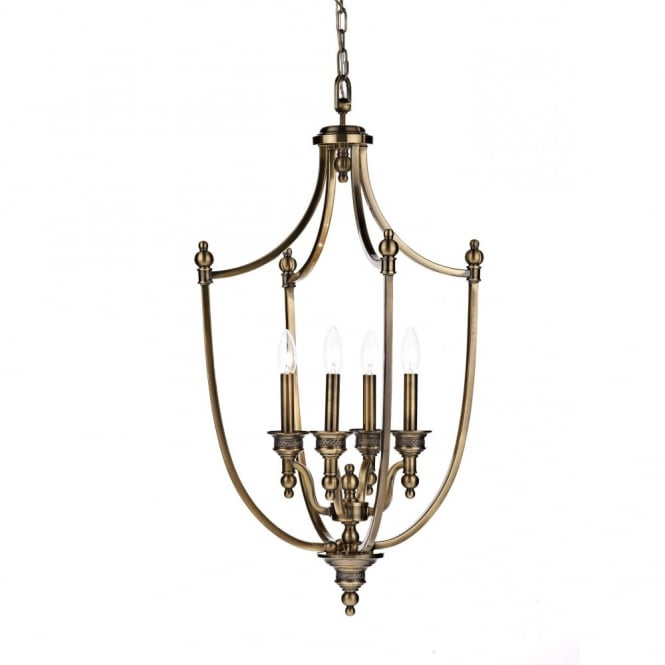 The Lighting Book LOMBARD lantern traditional antique brass