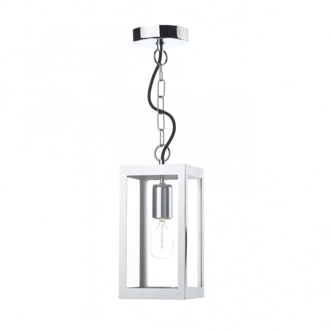 The Lighting Book LOTUS traditional polished chrome ceiling pendant