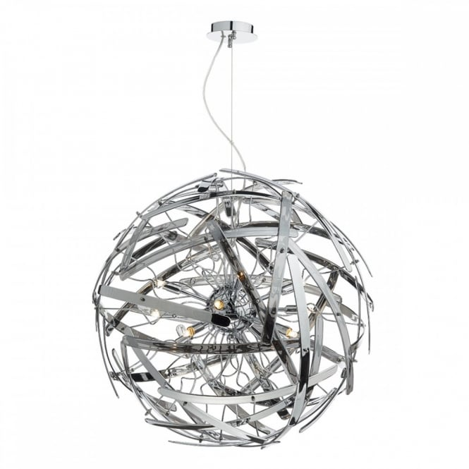 The Lighting Book MELBA contemporary design decorative smoked glass globe ceiling pendant