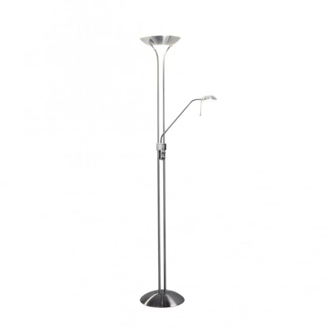 Montana uplighter floor lamp with adjustable reading arm montana uplighter floor lamp with flexible reading arm mozeypictures Gallery
