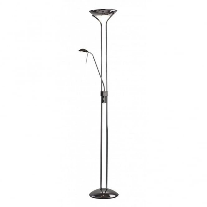 Marvelous MONTANA Uplighter Floor Lamp With Flexible Reading Arm