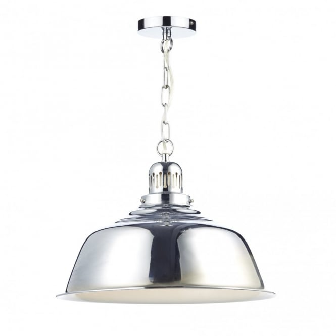 The Lighting Book NANTUCKET retro polished chrome ceiling pendant light