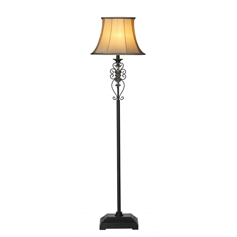 Traditional iron standard lamp free standing lighting for Lights company