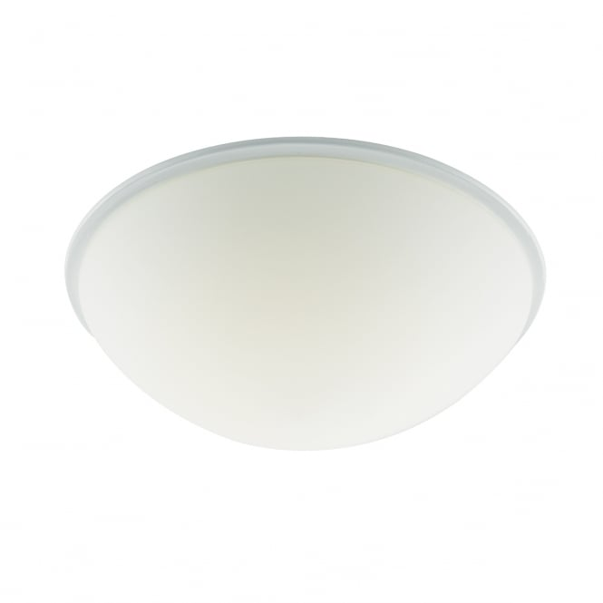 The Lighting Book NOAH flush white LED bathroom ceiling light