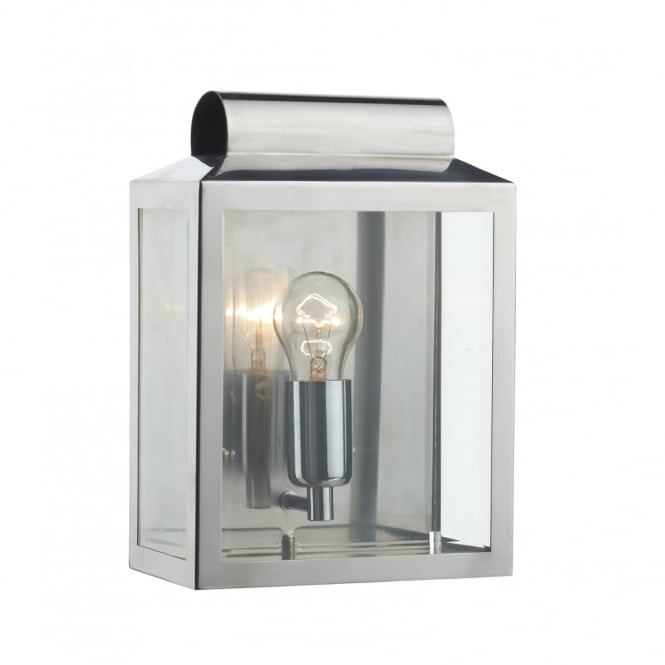 The Lighting Book NOTARY stainless steel traditional IP44 wall light