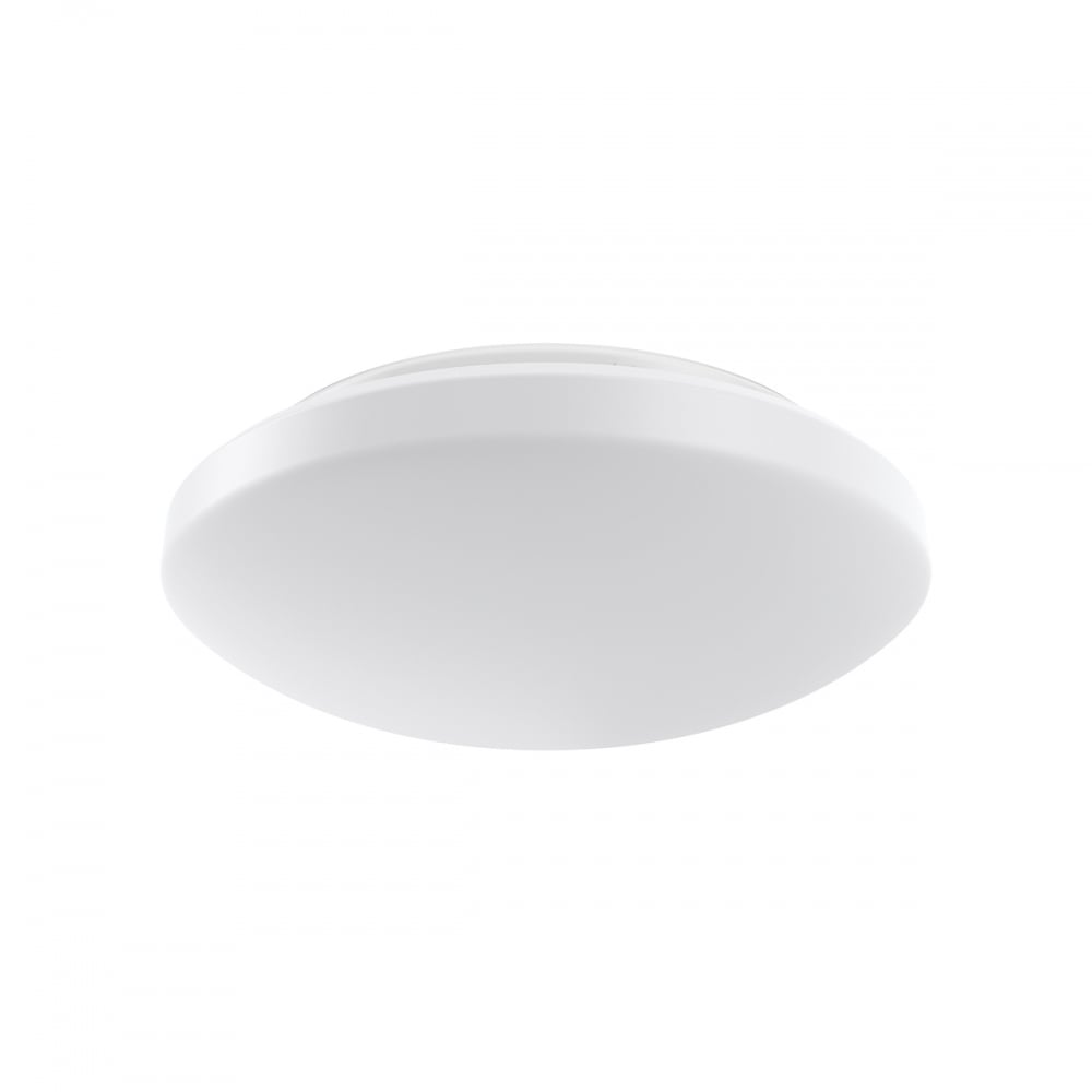 contemporary white led round bathroom ceiling light
