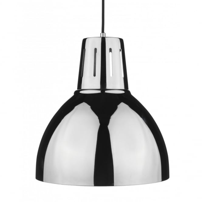 Delicieux OSAKA Easy To Fit Chrome Ceiling Pendant Light Shade