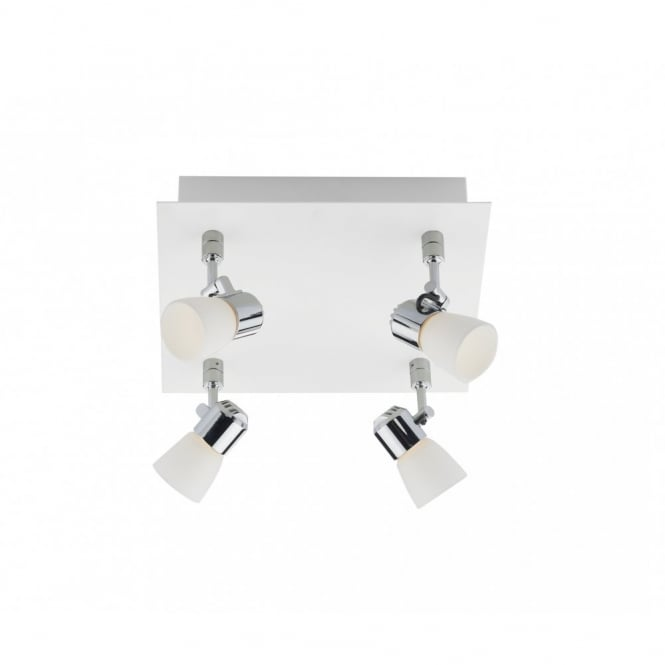 The Lighting Book OXYGEN white LED ceiling spot light plate