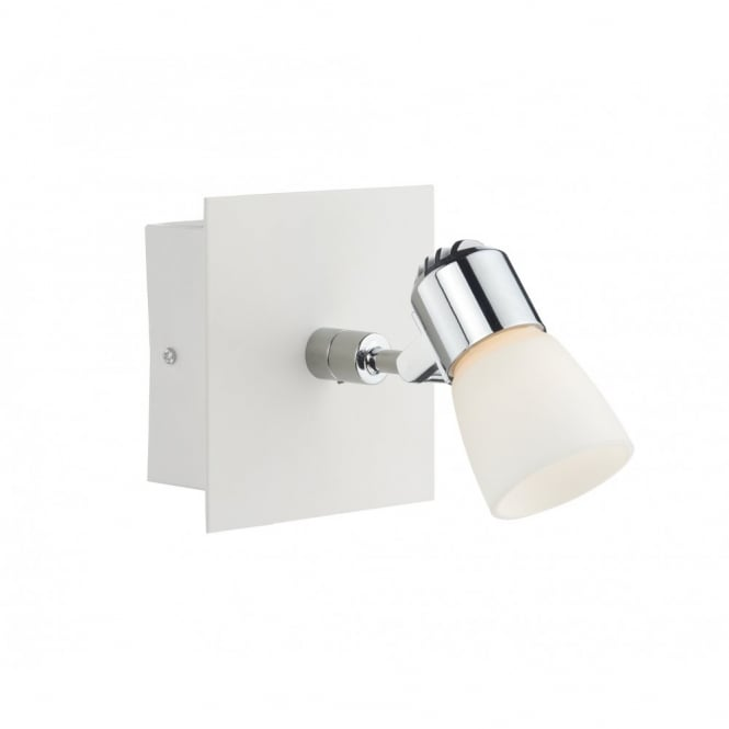 The Lighting Book OXYGEN white LED wall spot light