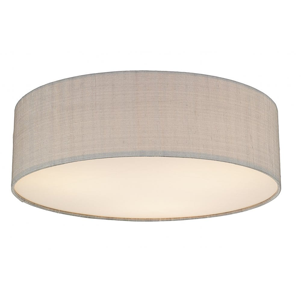 Ceiling Lights Grey : Contemporary low ceiling light for modern setting silk