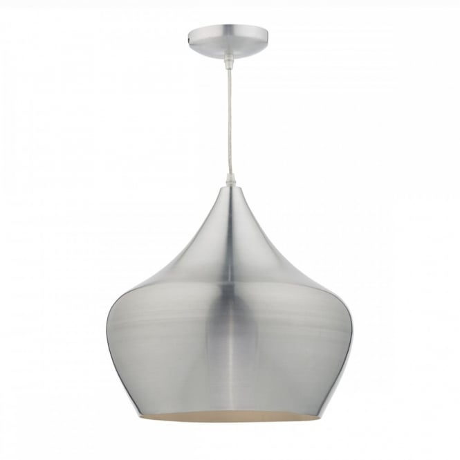 The Lighting Book POGO single aluminum spun ceiling pendant