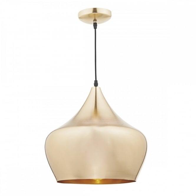 Gold Retro Pendant Ceiling Light Fitting