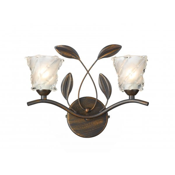 Wall Light Sculpture: Wall Light Antique Bronze Rustic Lighting Country Cottage