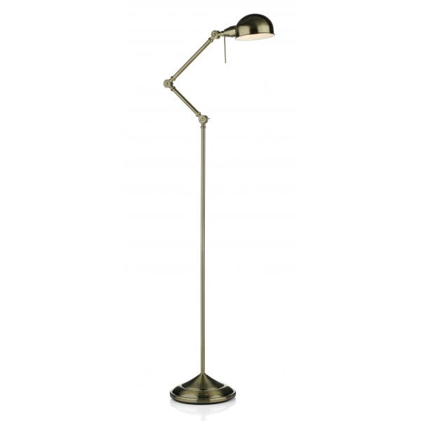 antique brass floor lamp reading craft lamp a task lamp in With floor lamp good for reading